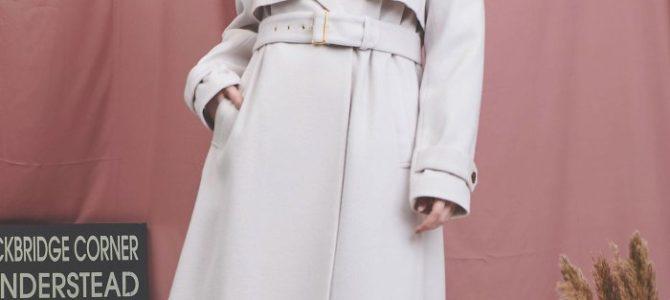 Noela ノエラ 【美人百花11月号掲載】ウールトレンチコート
